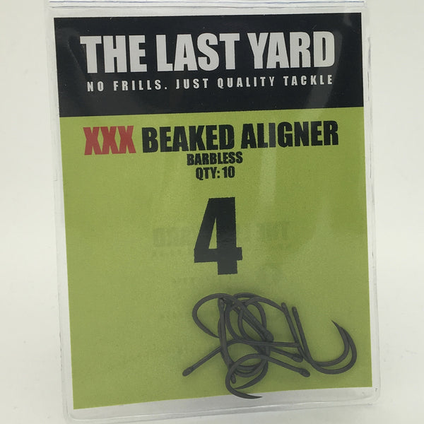The Last Yard XXX Beaked Aligner Barbless Hooks