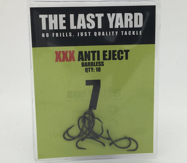 The Last Yard XXX Anti Eject BARBLESS Hooks