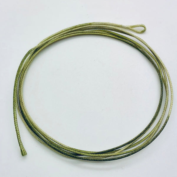The Last Yard Camo Green Leadcore Leaders 1m 45lb