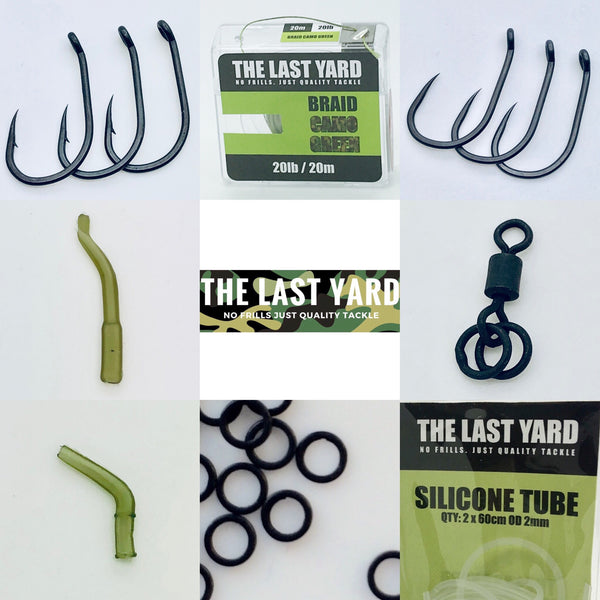 The Last Yard Wide Gape PVA Bag Rig Kit FREE BITS BOX