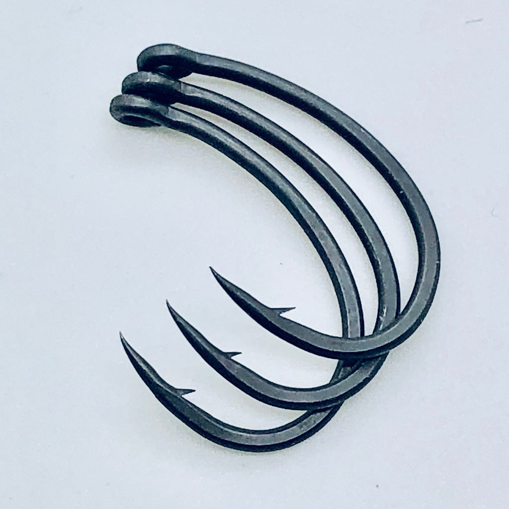 The Last Yard BARBED Offset Curve Hooks