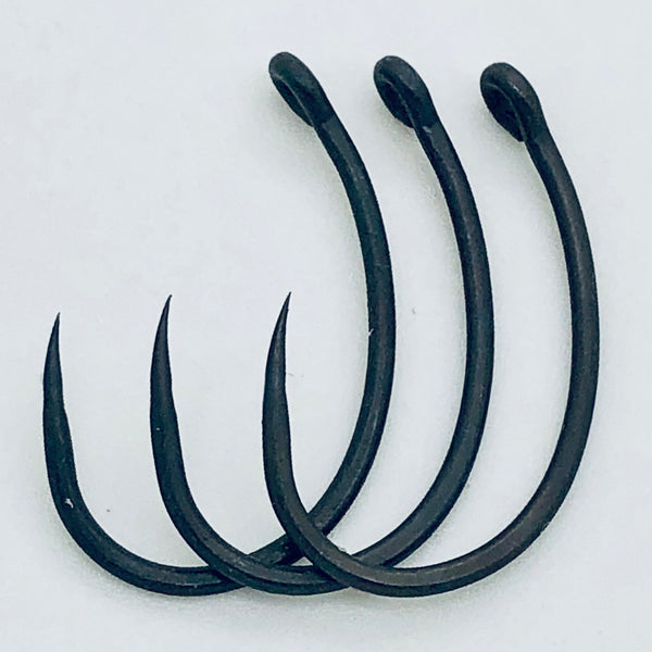 The Last Yard BARBLESS Offset Curve Shank Hooks