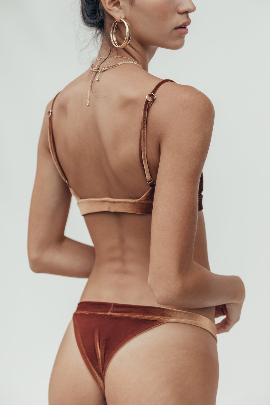 gigi bottom in penny velvet
