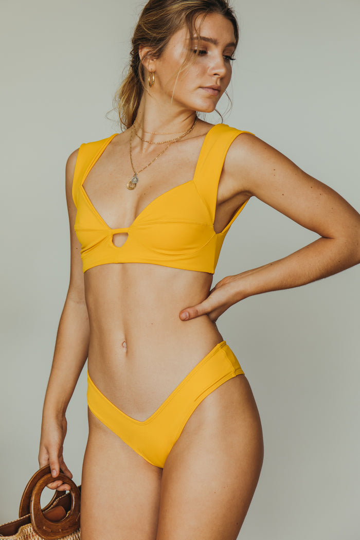 rio top in mustard