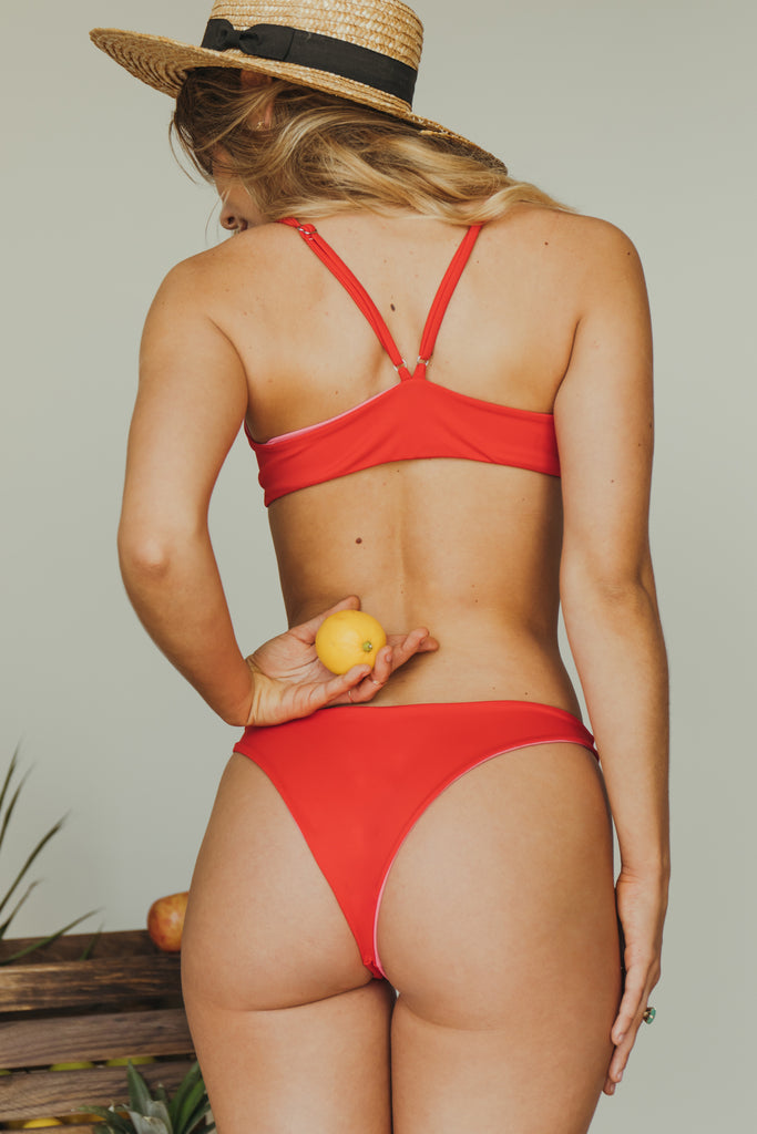 sami bottom in red + rouge