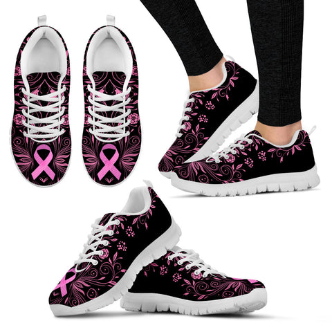 Women's Breast Cancer Awareness Custom Designed Sneakers
