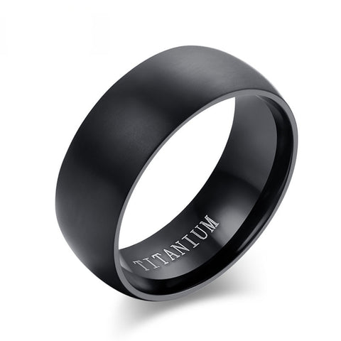 Titanium Engagement Rings For Men - Wrapped Direct