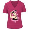 Pink Ladies 'Fight Like A Girl' Breast Cancer Awareness Shirt