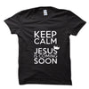 Keep Calm Jesus  T Shirts - Wrapped Direct