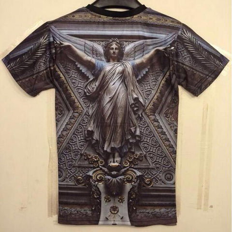 Jesus printed Cotton T-shirts