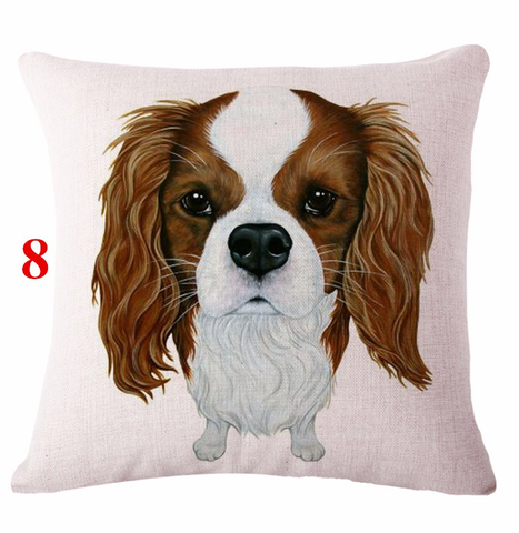 Cute Pet Dog Pattern Cushion Covers