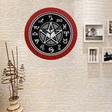 Image of Limited Edition Witching Hour Quartz Clock Red