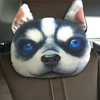 3D Printed Dog Face Car Headrest Pillows - Wrapped Direct