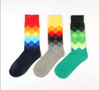 3 Pack Men's Tide Pattern Design Socks