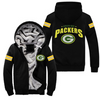 Custom-Made Green Bay Packers Luxury Zipped Jacket