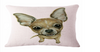 Cute Printed Chihuahua Cushion Covers