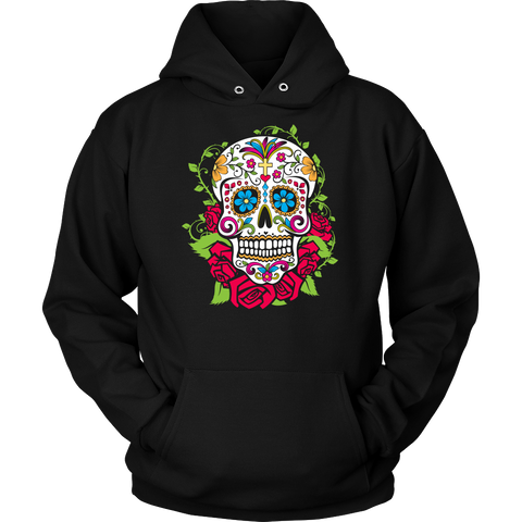 Amazing Sugar Skull Custom Printed Fashion Shirt