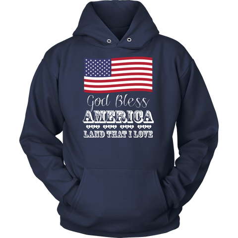 'God Bless America' 4th of July Celebration Shirt