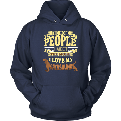 """I Love My Dachshund!"" T-Shirt"