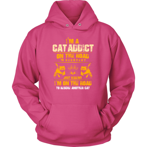 """I'm A Cat Addict"" T-Shirt"