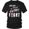 Ladies Breast Cancer Awareness Shirt