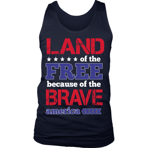'Land Of The Free' 4th of July Celebration Shirt