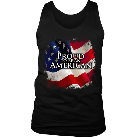 'Proud To Be An American' 4th of July Celebration Shirt