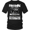 US Veterans Freedom Tee Shirt