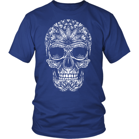 Sugar Skull Custom Printed Fashion Shirt