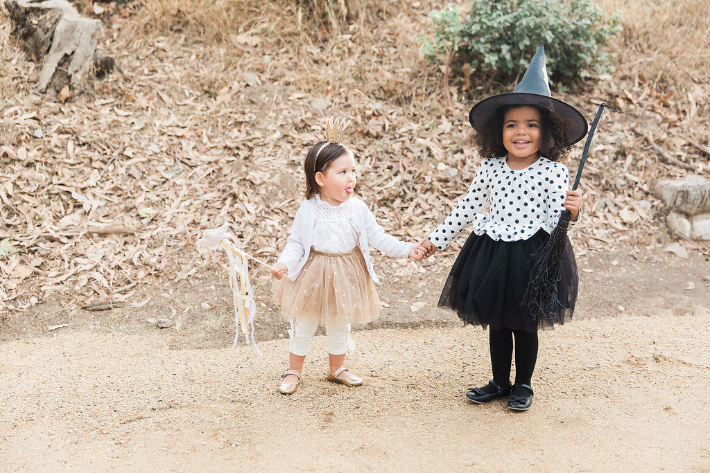 Princess and Witch Halloween Costume for Kids