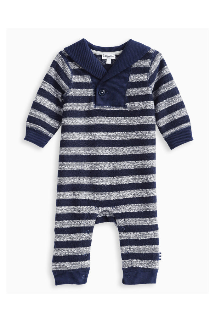 Hudson Stripe Coverall by Splendid