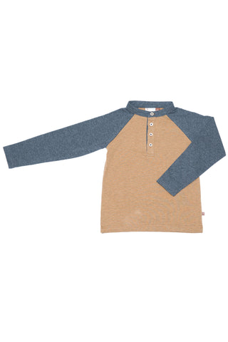 Dontae Heathered Raglan