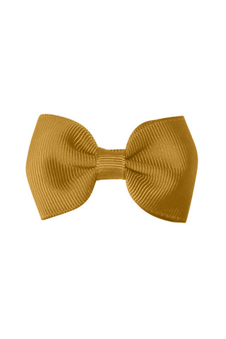 Nora Mustard Bowtie Bow by Milledeux