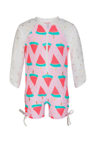 Addison Long Sleeve Sunsuit