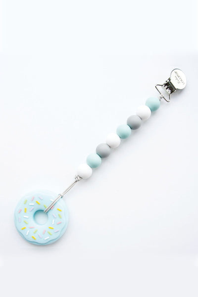 Andy Donut Teether Blue/Grey