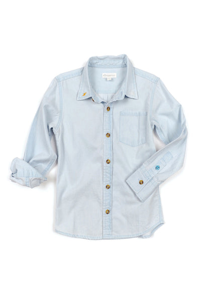 Johnnie Chambray Shirt by Appaman