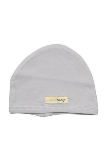 Brett Light Gray Organic Cute Cap by L'ovedbaby