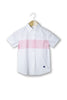 Brody Pink Stripe Short Sleeve Collar Shirt