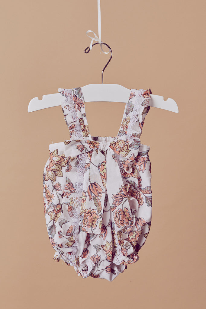 Caroline Honey Bouquet Baby Romper