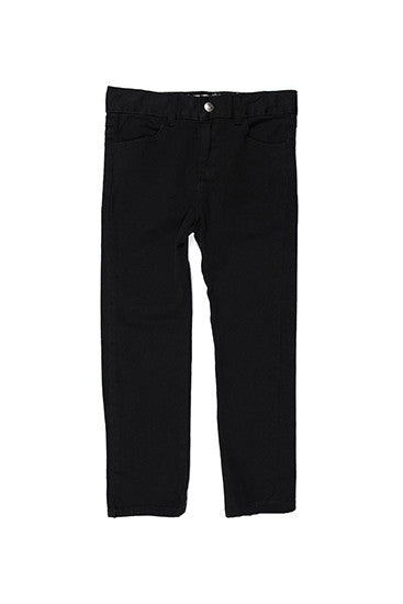 Chad Skinny Twill Pants Black by Appaman