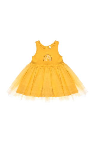 Claire Rainbow Tutu Dress