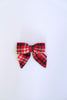 Holly Plaid Sailor Bow by Apricot in Orange