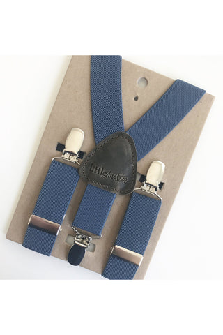 Dean Blue Baby & Toddler Suspenders by Little Mister