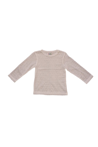 Essie Dot Mesh Shirt in Nude by Paush