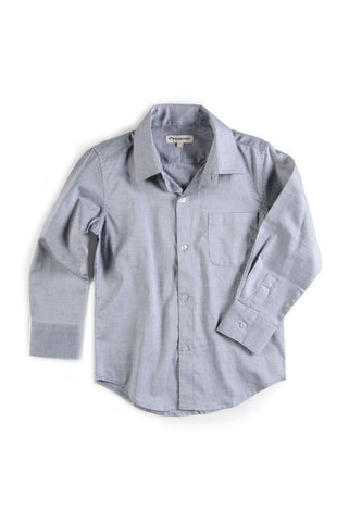 Paul Standard Dress Shirt Grey by Appaman