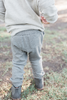 Chase Charcoal Grey Jogger Pants by Splendid
