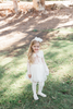 Avery Ivory Sparkle Tulle Skirt