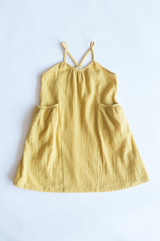 Edie Yellow Garden Dress