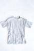 Helen Light Grey Stripe Field Dress
