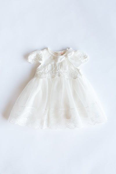 Cindy Lace White Dress